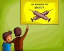 Vẽ hoặc sưu tầm tranh vận động phòng tránh sử dụng các chất gây nghiện (hoặc xâm hại trẻ em, hoặc HIV/AIDS, hoặc tai nạn giao thông)