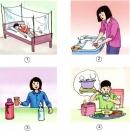 Thực hiện theo mỗi hình dưới đây, bạn có thể phòng tránh được bệnh gì trong các bệnh sau : sốt xuất huyết, sốt rét. viêm não, viêm gan A ?
