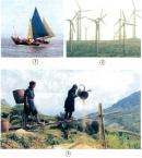 Con người sử dụng năng lượng gió trong những việc gì?