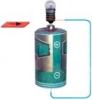 Lắp mạch điện có nguồn điện là pin để thắp sáng đèn. Sau đó ngắt một chỗ nối trong mạch để tạo ra chỗ hở. Lúc này đèn có sáng không ?