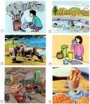 Hãy liệt kê những thứ mà môi trường cung cấp hoặc nhận lại từ các hoạt động sống và sản xuất của con người