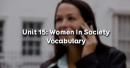 Vocabulary - Phần từ vựng - Unit 15 Tiếng Anh 12