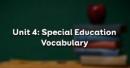 Vocabulary - Phần từ vựng - Unit 4 Tiếng Anh 10