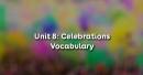 Vocabulary - Phần từ vựng - Unit 8 Tiếng Anh 11