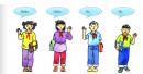 Vocabulary - Phần từ vựng - Unit 1 Tiếng Anh 6