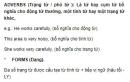 Adverbs (Trạng từ / phó từ ) Unit 6 SGK Tiếng Anh 9