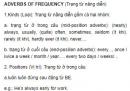 Trạng từ năng diễn- Adverbs of frequency