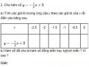 Bài 2  trang 45 sgk Toán 9 tập 1