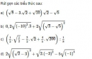Bài 71 trang 40 SGK Toán 9 tập 1