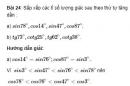 Bài 24 trang 84 SGK Toán 9 tập 1