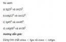 Bài 25 trang 84 SGK Toán 9 tập 1