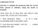 Language Focus - Unit 3 trang 39 SGK Tiếng Anh 11