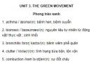 Vocabulary - Phần từ vựng - Unit 3 tiếng Anh 12 mới