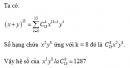 Câu 18 trang 67 SGK Đại số và Giải tích 11 Nâng cao