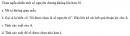 Câu 25 trang 75 SGK Đại số và Giải tích 11 Nâng cao