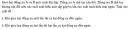 Câu 36 trang 83 SGK Đại số và Giải tích 11 Nâng cao
