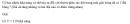 Câu 5 trang 62 SGK Đại số và Giải tích 11 Nâng cao