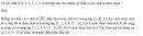 Câu 56 trang 93 SGK Đại số và Giải tích 11 Nâng cao