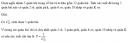 Câu 62 trang 94 SGK Đại số và Giải tích 11 Nâng cao