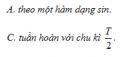 Câu 1 trang 43 SGK Vật Lý 12 Nâng cao