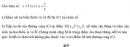 Bài 79 trang 62 SGK  giải tích 12 nâng cao