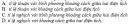 Bài 1 trang 8 SGK Vật Lí 11 Nâng cao