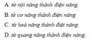 Bài 1 trang 56 SGK Vật Lí 11 Nâng cao