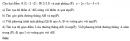 Bài 2 trang 109 SGK Hình học 12 Nâng cao