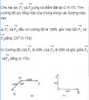 Bài 13 trang 15 Sách giáo khoa (SGK) Hình học 10 Nâng cao