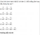 Bài 16 trang 17 Sách giáo khoa (SGK) Hình học 10 Nâng cao