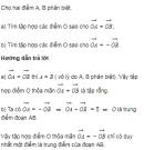 Bài 17 trang 17 Sách giáo khoa (SGK) Hình học 10 Nâng cao