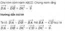 Bài 18 trang 17 Sách giáo khoa (SGK) Hình học 10 Nâng cao
