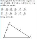 Bài 22 trang 23 Sách giáo khoa (SGK) Hình học 10 Nâng cao