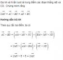 Bài 23 trang 24 Sách giáo khoa (SGK) Hình học 10 Nâng cao