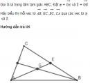 Bài 25 trang 24 Sách giáo khoa (SGK) Hình học 10 Nâng cao