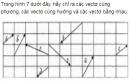 Bài 3 trang 9 Sách giáo khoa (SGK) Hình học 10 Nâng cao
