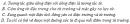 Bài 1 trang 140  SGK Vật Lí 11 Nâng cao