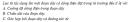 Bài 1 trang 146 SGK Vật Lí 11 Nâng cao
