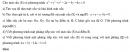 Bài 9 trang 111 SGK Hình học 12 Nâng cao