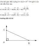 Bài 6 trang 51 SGK Hình học 10 nâng cao
