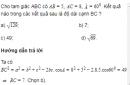 Bài 16 trang 64 SGK Hình học 10 nâng cao