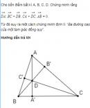 Bài 7 trang 52 SGK Hình học 10 nâng cao