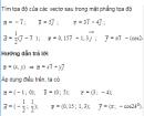 Bài 30 trang 31 SGK Hình học 10 Nâng cao
