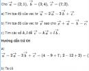 Bài 31 trang 31 SGK Hình học 10 Nâng cao