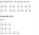 Bài 1 trang 34 SGK Hình học 10 Nâng cao