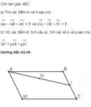 Bài 4 trang 34 SGK Hình học 10 Nâng cao