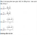 Bài 16 trang 37 SGK Hình học 10 Nâng cao