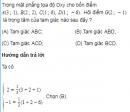 Bài 23 trang 38 SGK Hình học 10 Nâng cao
