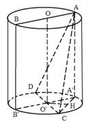 Bài 7 trang 123 SGK Hình học 12 Nâng cao