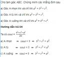 Bài 18 trang 65 SGK Hình học 10 nâng cao